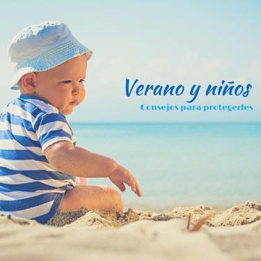 En plena ola de calor, precauciones tomar en bebés y niños