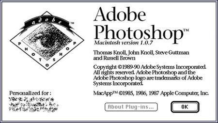 Photoshop cumple 20 años