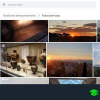Cómo liberar espacio borrando fotos borrosas o capturas en Google Fotos con su nueva herramienta