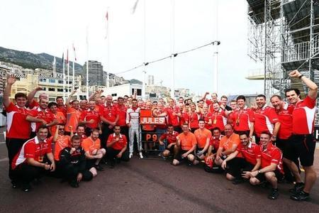 Jules Bianchi, una gran ayuda para Marussia