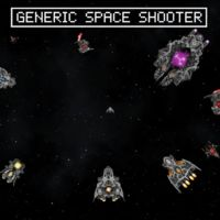 Entre tanto matamarcianos,  Generic Space Shooter da justo lo que promete su título