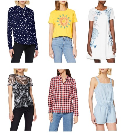 14 chollos en tallas sueltas de moda para mujer en Amazon en marcas como Wrangler, Levi's, Pepe Jeans o Desigual