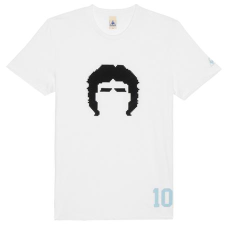 camiseta retro futbol lecoq maradona