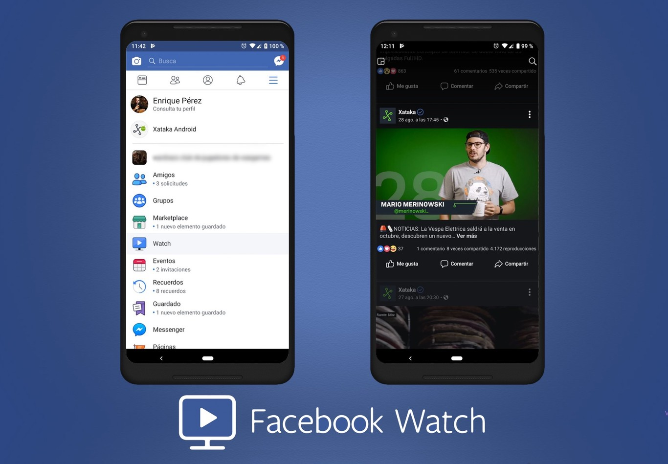 5e71e1919 Probamos Facebook Watch  así funciona la alternativa a Youtube de la red  social