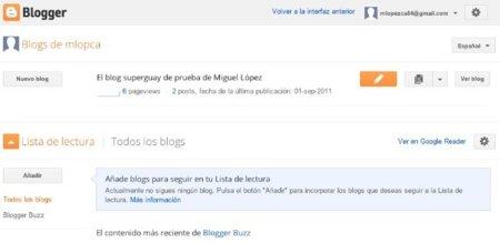 blogger administración blogs google