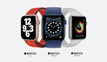Apple Watch Series 6 vs Watch SE vs Watch Series 3: todas las diferencias entre los relojes de Apple