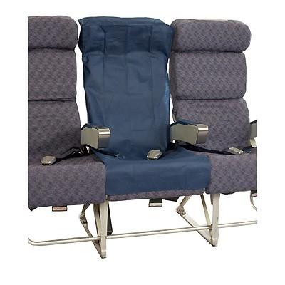 Fundas descartables para el asiento del avión