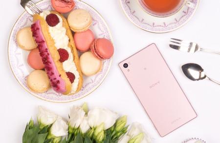 Sony se suma a las tendencias del mundo de la moda, el Xperia Z5 también en color rosa