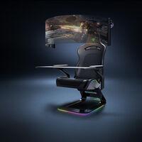 Project Brooklyn: la silla gamer de Razer con pantalla desplegable de 60 pulgadas y retroalimentación háptica en el asiento