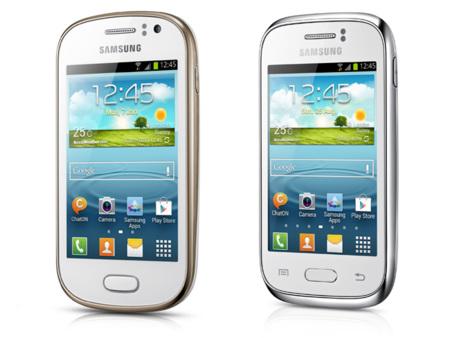 Así son los nuevos Samsung Galaxy Young y Samsung Galaxy Fame, terminales de entrada que llegarán con Jelly Bean