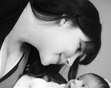 La foto de tu bebé: Florencia y el amor de una mirada