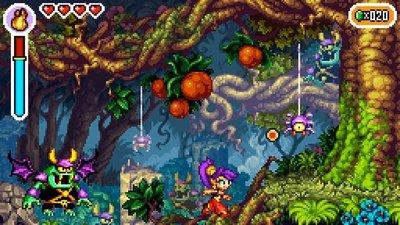 'Shantae: Risky's Revenge' llegará dentro de unos días a DSiWare. Esencia retro por un tubo