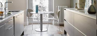 ¿Cuántos metros necesitas para disfrutar de una mesa para comer en la cocina?