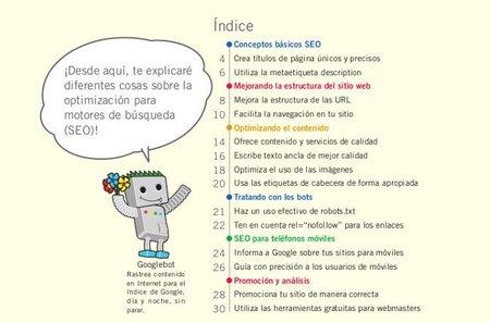 Nueva guía de SEO para principiantes en castellano de Google