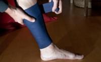 Lesión deportiva, ¿vendaje compresivo o hielo?