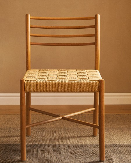 silla trenzada