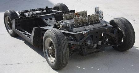 1965 Turin Salon Lamborghini Miura Chassis