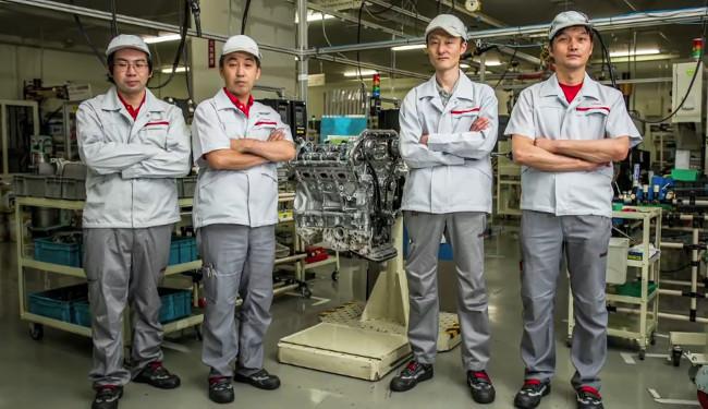 Los Takumi que montan los motor del GT-R