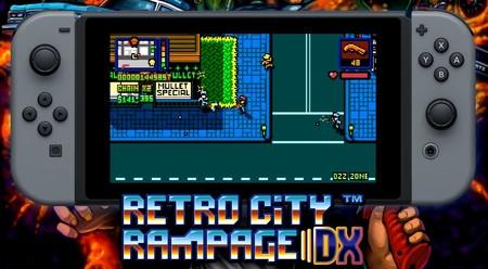 La versión para Nintendo Switch de Retro City Rampage DX está al caer