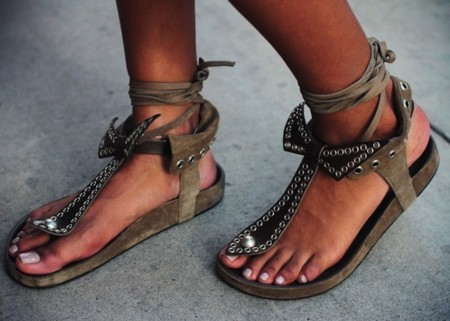 Duelo de ugly (pretty) shoes: Isabel Marant triunfa