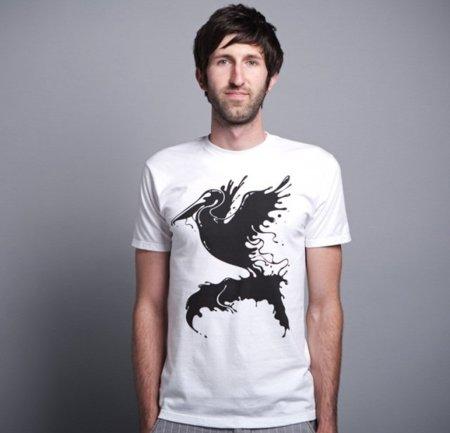 Camiseta peliCAN de Threadless para ayudar en la recuperación del Golfo de México