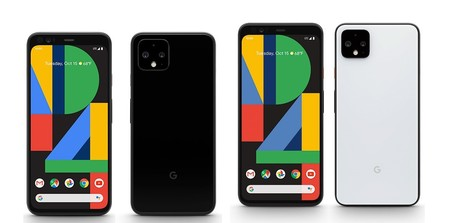 Google Pixel 4 Negro 4xl Blanco Negro