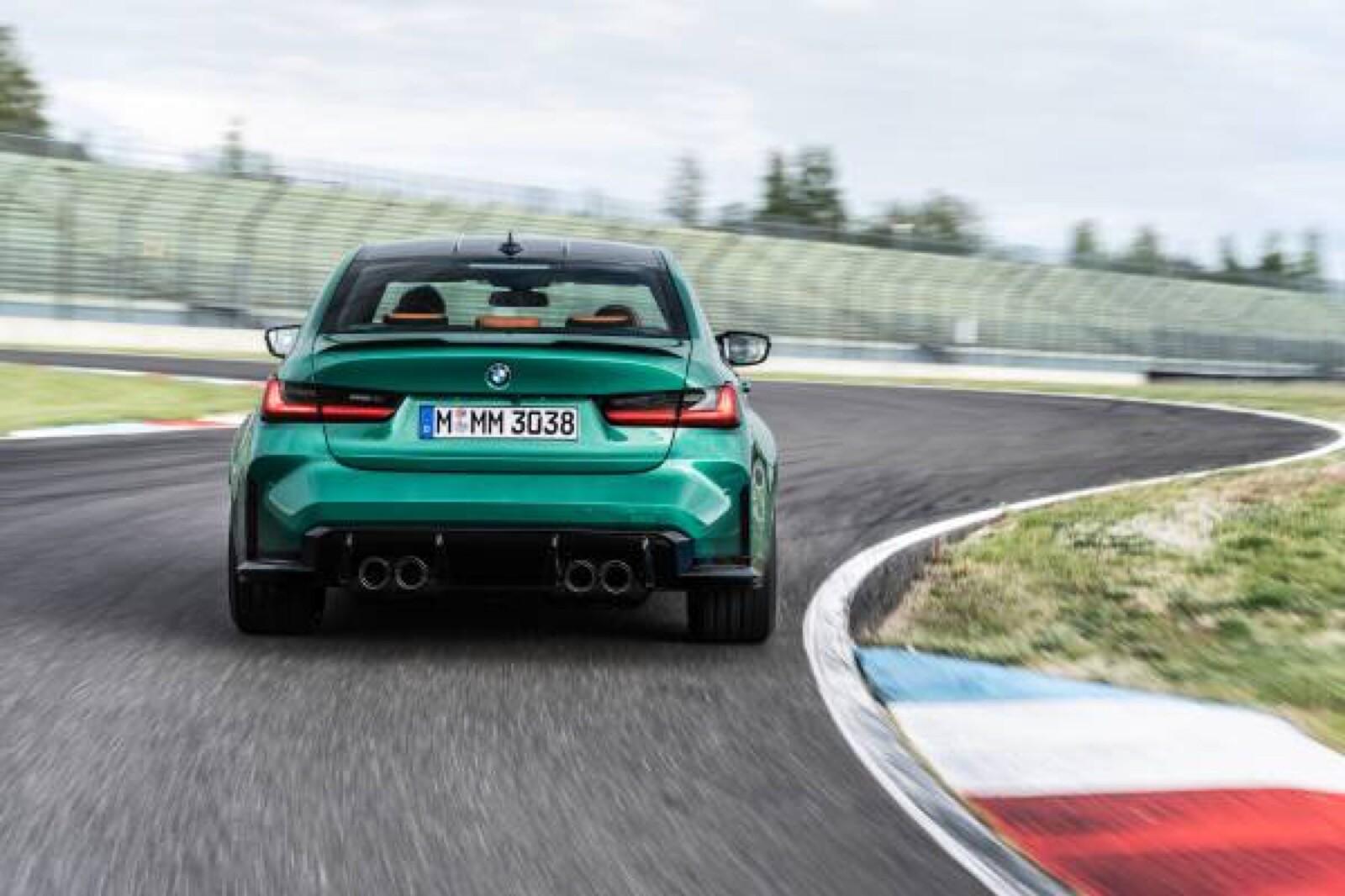 Foto de BMW M3 Competition 2021 (31/40)