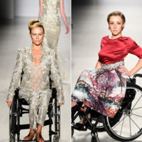 Las modelos con discapacidad desfilan y asombran a Nueva York
