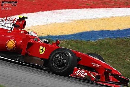 Los Ferrari toman la delantera en Sepang