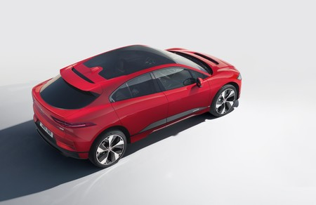 Jaguar I-PACE trasera lateral