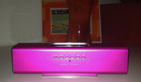 Music Angel, altavoces frontal