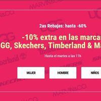10% de descuento extra en las marcas UGG, Skechers, Timberland & Marvin&Co en Sarenza