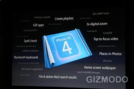 Novedades iPhone OS 4.0