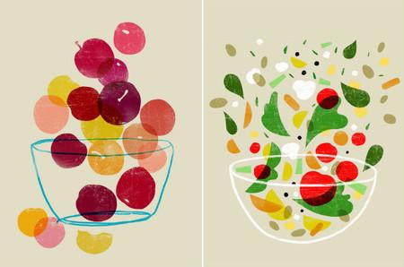 Decora tu cocina con las preciosas ilustraciones de Ana Zaja Petrak