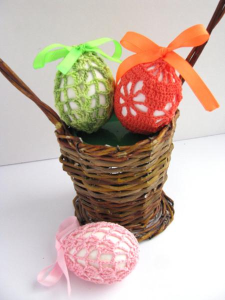 Ganchillo Huevos Pascua