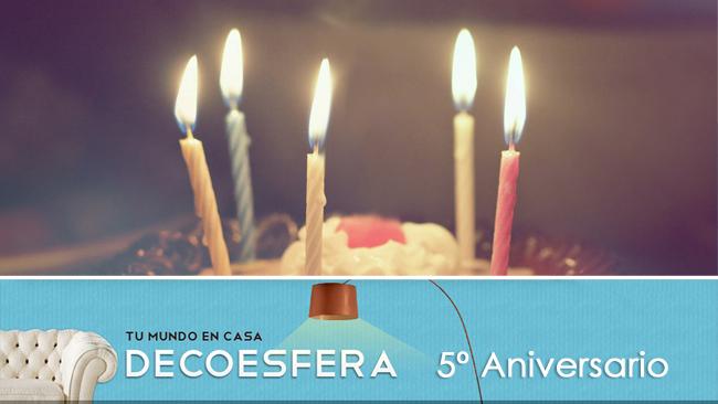 Quinto aniversario de Decoesfera