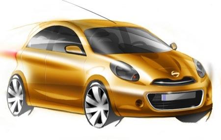 Nissan deja ver su nuevo utilitario, ¿la renovación del Nissan Micra?