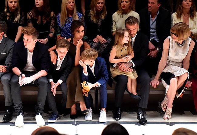 Foto de Los Beckham al completo, Chiara Ferragni, Cara Delevingne... en la fiesta del año de Burberry (14/33)