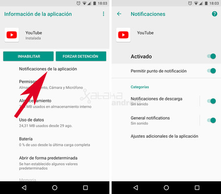 Oreo Notificaciones 3