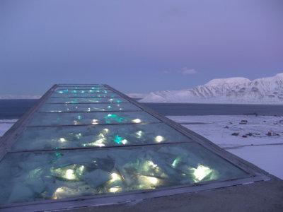 El Arca de Noé de especies vegetales en Svalbard, Noruega