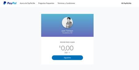PayPal.Me en Colombia