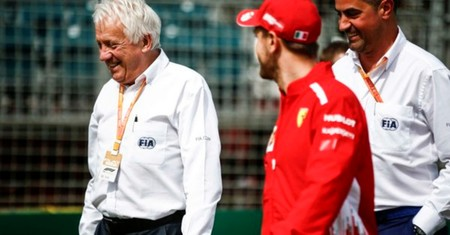 Charlie Whiting Vettel