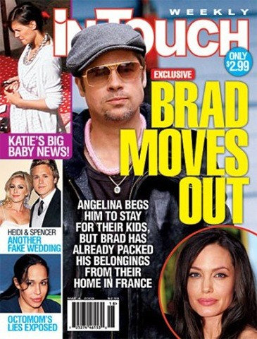 Brad Pitt se ha vuelto a ir de casa y esta vez, en serio