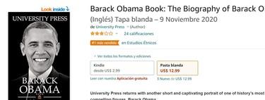 El autor de esta exitosa biografía de Obama en Amazon es una IA: el mundo de los Kindle escritos por no-humanos