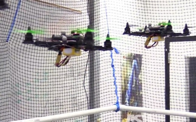 Controlando varios robots con el cerebro