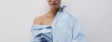 Zara lanza su primera colección de camisas personalizables: puedes bordar hasta cuatro letras en tres colores y tres posiciones diferentes