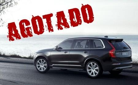 Vendidas en 47 horas las 1.927 unidades del nuevo Volvo XC90 First Edition