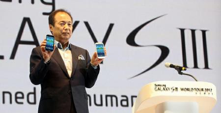 Samsung Galaxy SIII a por los diez millones en julio