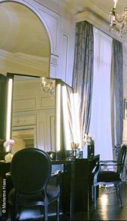 El nuevo salón de Christophe Robin en el palacio parisino Le Meurice