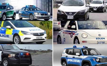 ¿Qué coches de patrulla utilizan en diferentes países del mundo?
